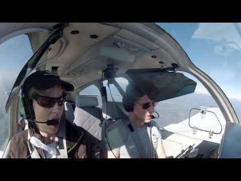 Flight back from