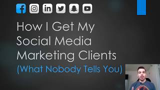 Video How I get my SMM Clients (What Nobody Tells You) download MP3, 3GP, MP4, WEBM, AVI, FLV Mei 2018