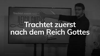 Trachtet zuerst nach dem Reich Gottes - Matthäus 6,31-34 - Maiko Müller