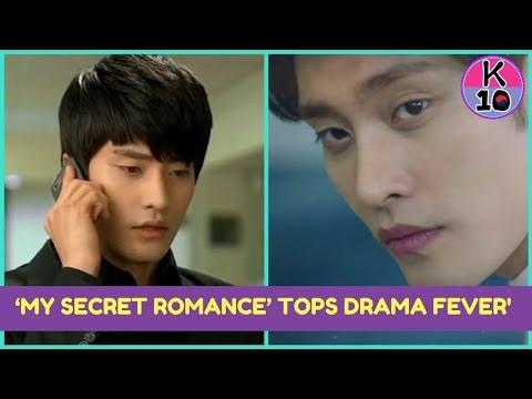 Sung Hoon Song Ji Eun's My Secret Romance Top's Drama Fever's Weekly Asian Series Chart