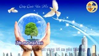 Bài hát Chắp cánh ước mơ [Karaoke + Lyrics]