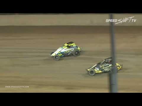 "USAC National Sprint Car ""Fall Nationals"" Highlights | Lawrenceburg Speedway 9.29.18"