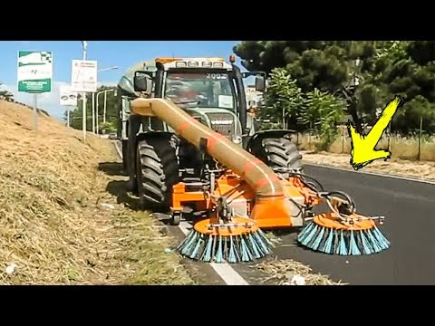 World Amazing Modern Machines Cleaning Street Equipment Technology - Street Sweeper Machine