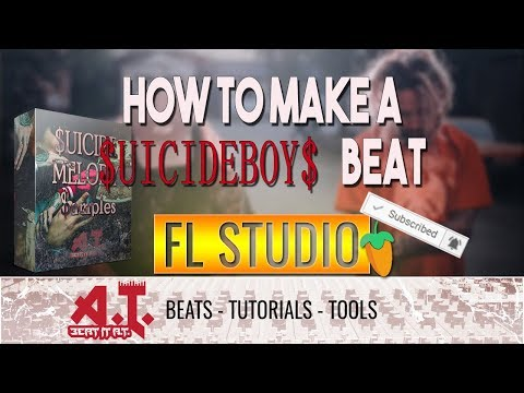 How To Make A $UICIDEBOY$ Type Beat in FL Studio (+Free Sample Kit)