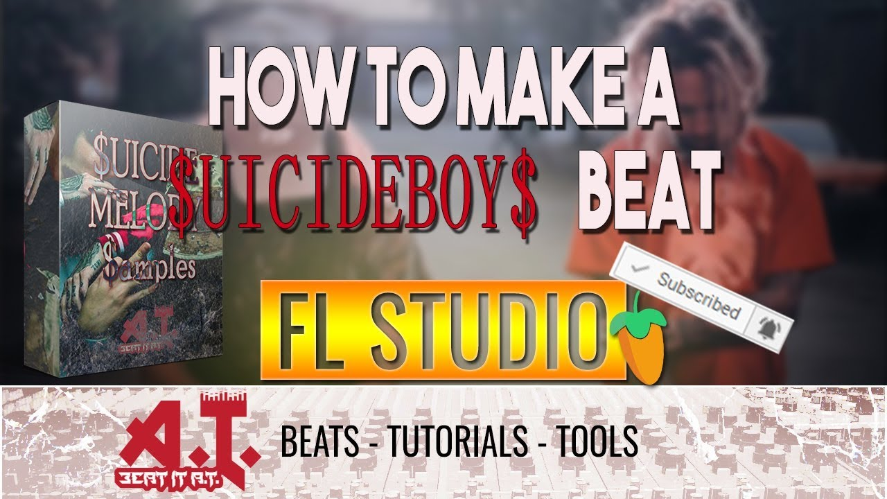 How To Make A $UICIDEBOY$ Type Beat in FL Studio (+Free