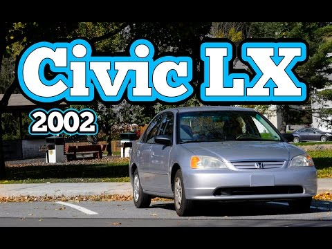 Regular Car Reviews: 2002 Honda Civic LX