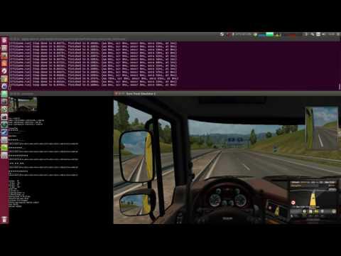 Self-Driving Truck in Euro Truck Simulator 2