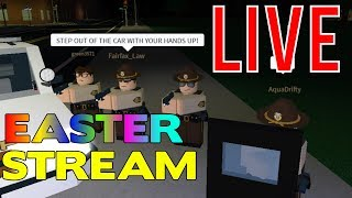 🔴Roblox Mano County Patrol! EASTER STREAM! 🐰 LIVE!