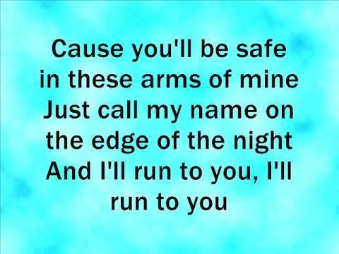 Lea Michele Run To You Lyrics