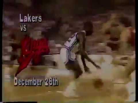 KOVR Lakers vs. Kings promo, 1985