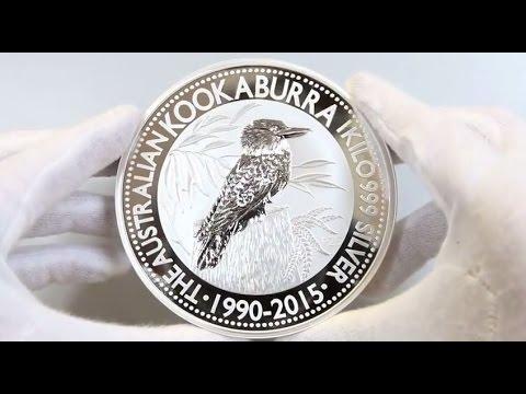 Perth Mint 2015 Silver Kookaburra Coins