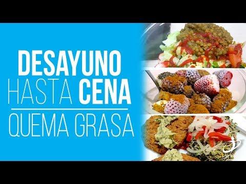 Desayuno hasta Cena para Bajar de Peso - Día Completo de Comida con Ayuno Intermitente