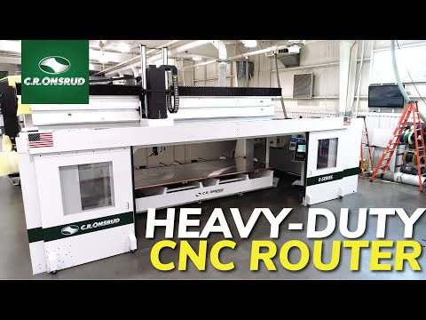 Enclosed 5-Axis CNC Router - The 194