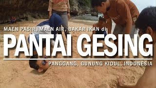 PANTAI GESING JOGJA - PANTAI TERSEMBUNYI SURGANYA PECINTA SEAFOOD