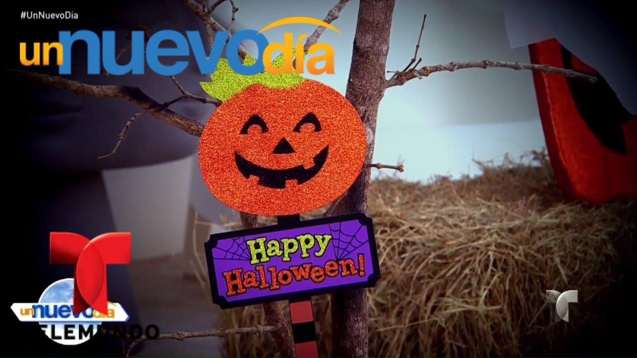 Aprende c mo decorar tu casa para halloween un nuevo d a telemundo youtube - Aprende a decorar tu casa gratis ...