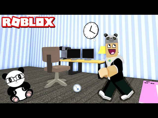 Evimize Youtuber Odası Yaptık! - Panda ile Roblox MeepCity