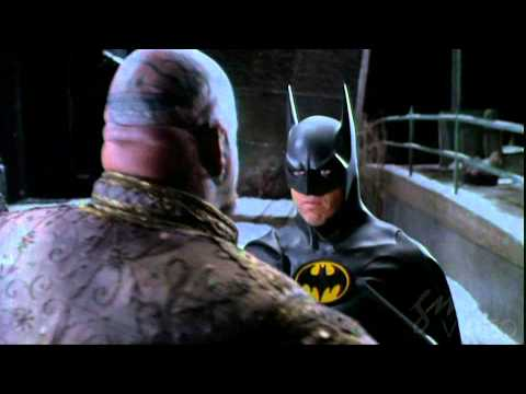 Batman Returns  Batman v. Red Triangle Circus Gang Strongman  HD Quality