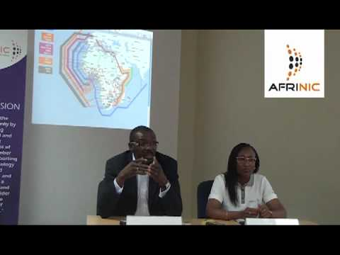 AFRINIC Press Conference on current Outreach Programs