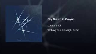 Sky Drawn in Crayon