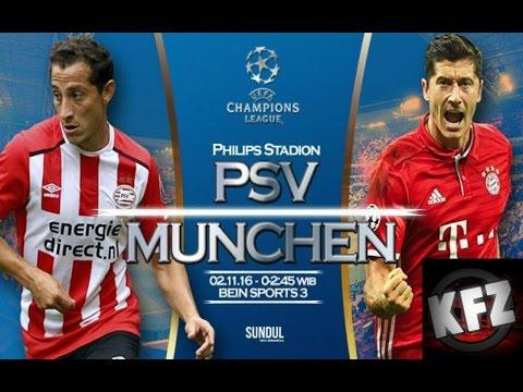 PSV 1-2 Bayern Múnich - UEFA Champions League   KFZ Nation