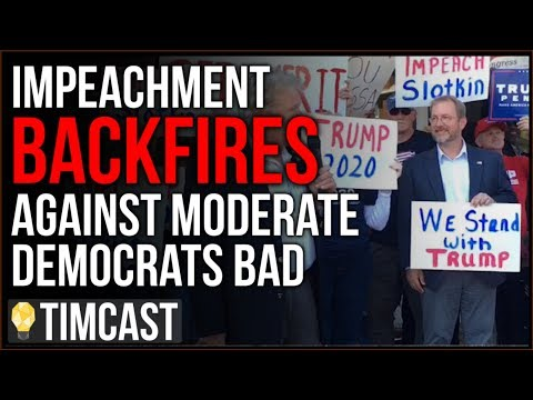 """impeachment-backfires-on-moderate-democrats-bad,-outrage-and-booing-erupts,-people-cry-""""coup"""""""