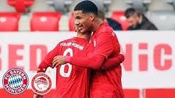 6:0! U19 nach Kantersieg kurz vor KO-Phase | FC Bayern - Olympiakos | Highlights - UEFA Youth League