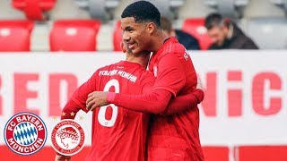6:0! U19 nach Kantersieg kurz vor KO-Phase | FC Bayern - Olympiakos | Highlights - UEFA Youth League