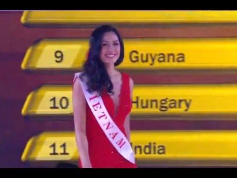 Nguyễn Thị Loan lọt top 25 Hoa hậu Thế giới 2014 | Vietnamese contestant in Top 25 Miss World 2014