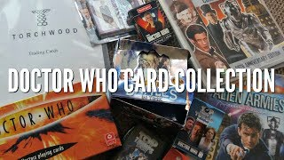 Doctor Who Trading/Playing Cards Collection