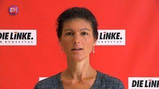 Поможем Саре Вагенкнехт закрыть авиабазу США в Рамштайне! «Голос Германии»