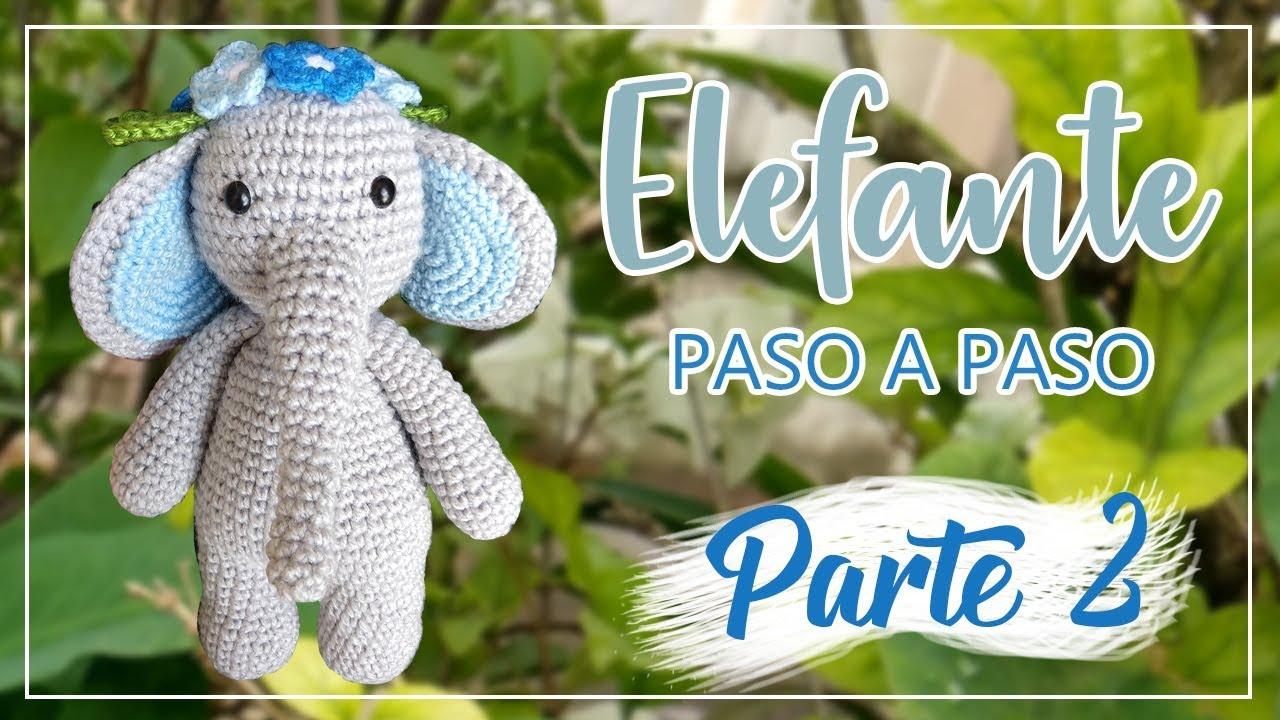 Elefante Amigurumi - Receita Elefante Crochê (Inspiração) - YouTube | 720x1280
