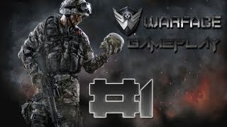 Multiplayer Gameplay Warface #1 | Deutsch | HD