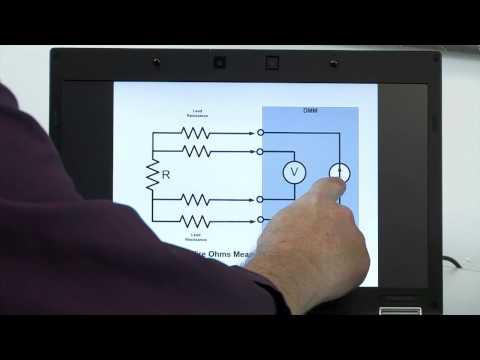 Digital Multimeter Tutorial, Making Resistance Measurements, Understanding 4 Wire Ohm Measurement