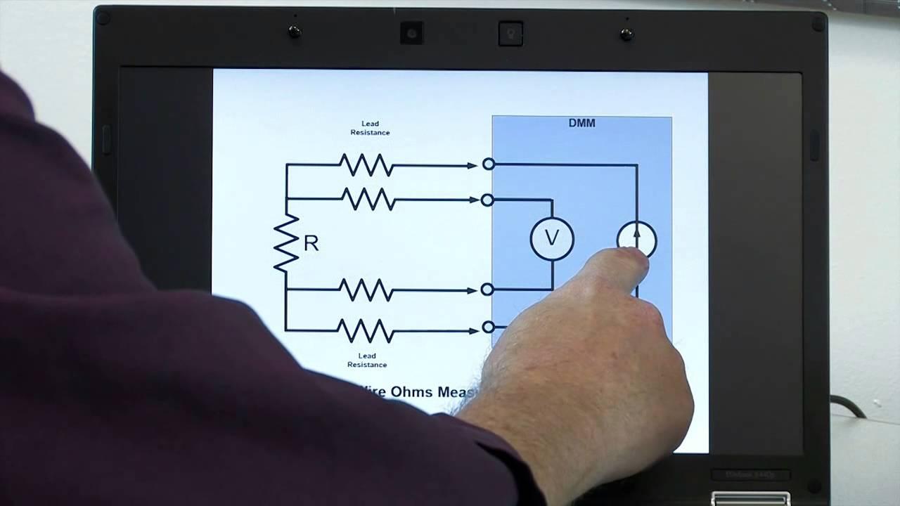 Digital Multimeter Tutorial, Making Resistance Measurements ...