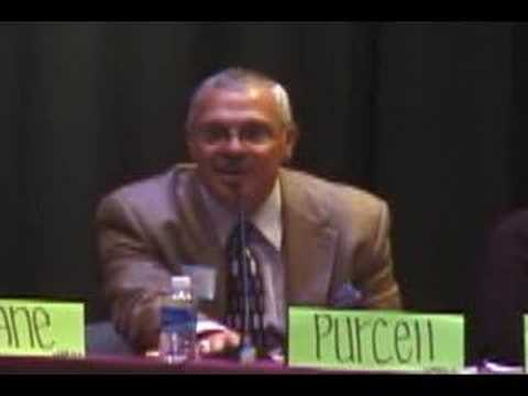 Rick Purcell at Holyoke Youth Task Force Candidates Forum