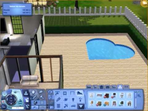 Les sims 3 construction am nagement villa partie i l 39 am nagement youtube for Maison moderne de luxe sims 3