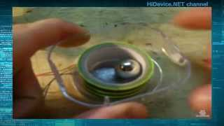 Раскрутка неодимового магнита до огромной скорости(Раскрутка до огромной скорости неодимового магнита в виде шара при помощи устройства Бедини. Напряжение..., 2015-11-14T11:32:33.000Z)