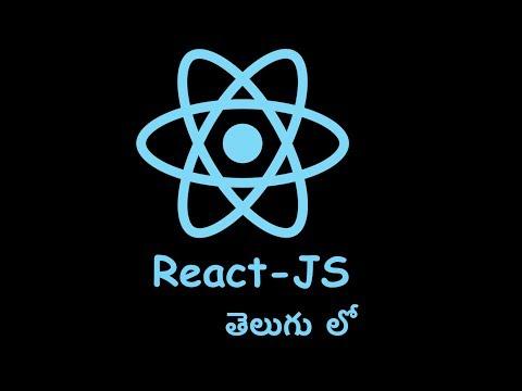 10 React Js In Telugu class component thumbnail