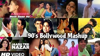 90's Bollywood Romantic Songs Mashup | Evergreen 90's Bollywood Songs | 90's Hits | Find Out Think