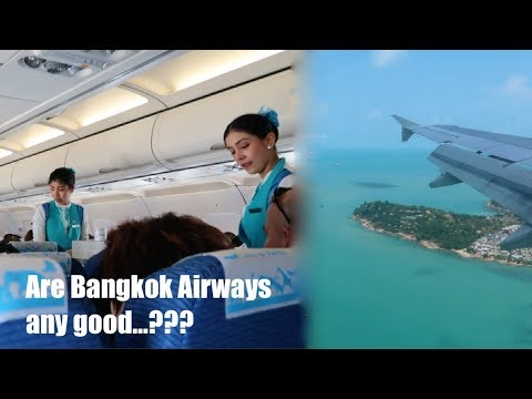 Flying To Koh Samui With Bangkok Airways