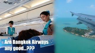 Flying to Koh Samui with Bangkok Airways