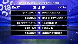 EAST 第3節 ダイジェスト【高円宮杯 JFA U-18サッカープレミアリーグ 2018】