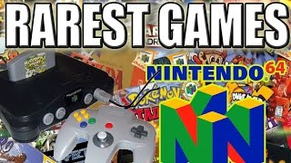 10 More Rare N64 Games | Most valuable N64 Games