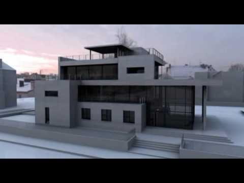 Bauhaus Stil designhaus geschäftshaus im bauhausstil villa zollstraße