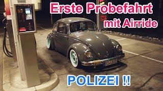 Erste Probefahrt - Erste Polizeikontrolle