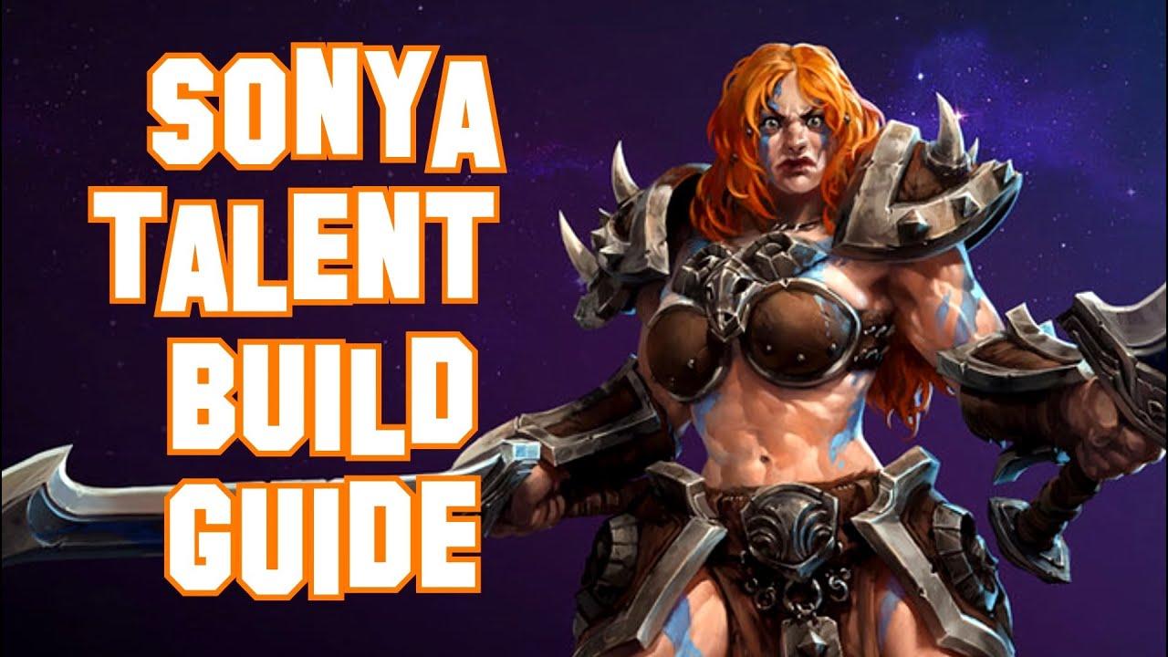 Sonya Heroes Build