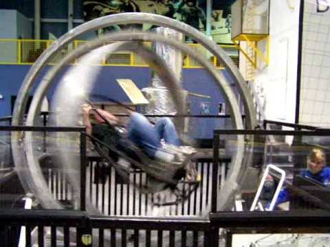 3Axe Spinning at Astronaut Training  YouTube