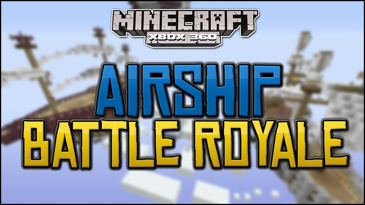 minecraft airship battle map