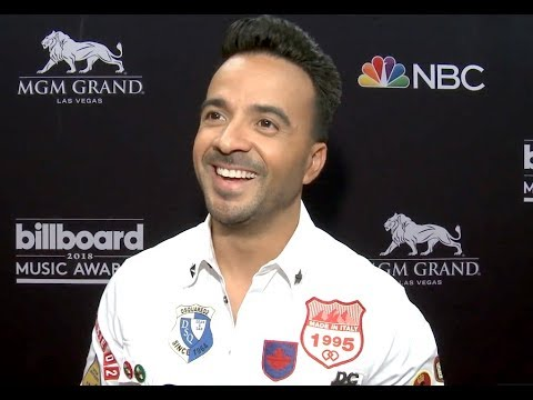 Luis Fonsi Interview Before the Billboard Music Awards 2018