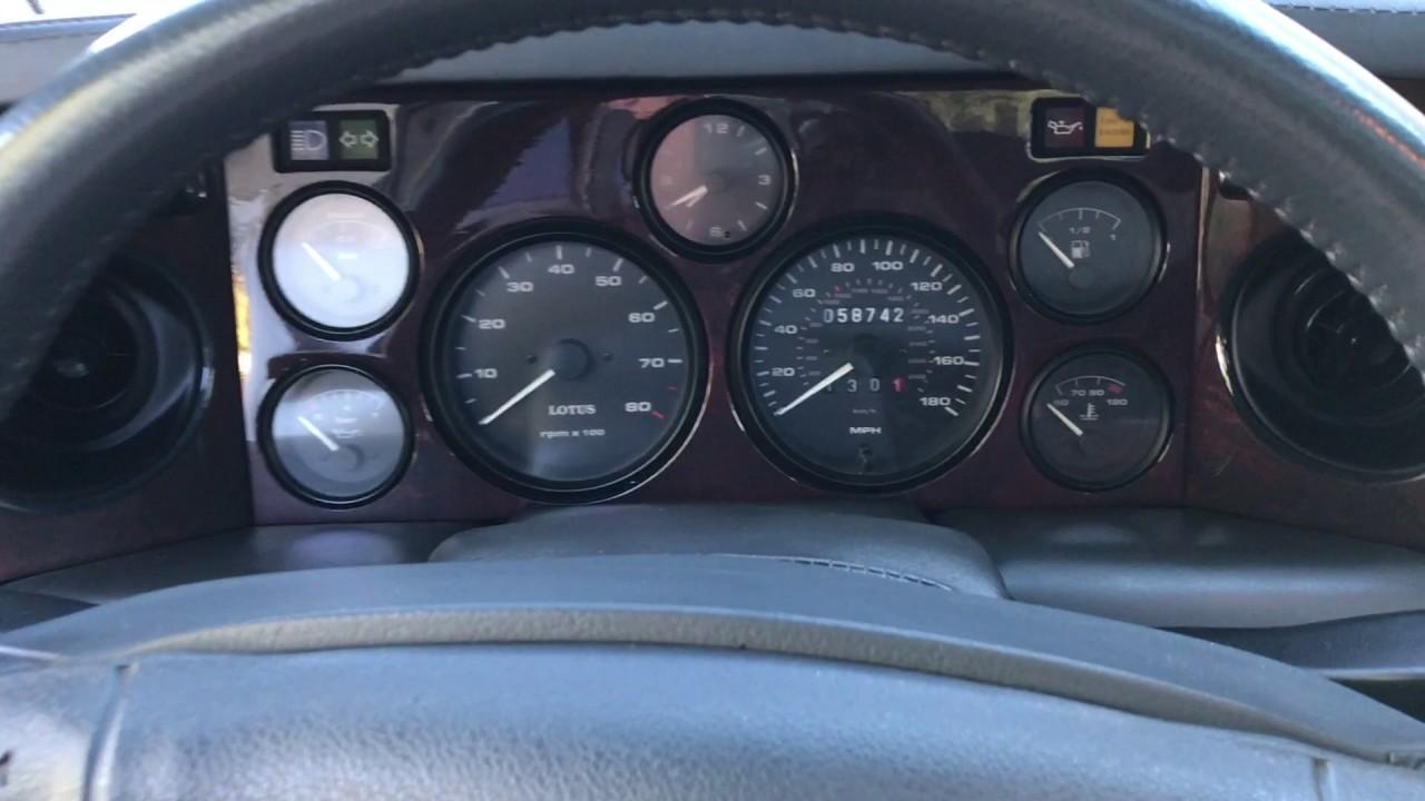 1995 Lotus Esprit S4S Interior